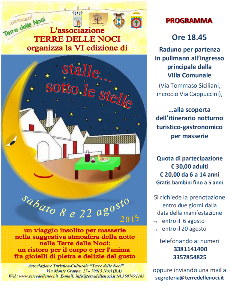 Stalle sotto le stelle 2015